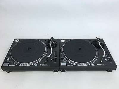 Technics SL-1200 MK5  PAIR Turntables in Excellent Condition