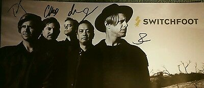 Switchfoot Autographed Poster