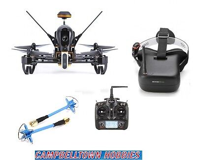 Walkera F210 Ready to fly Racing Drone with Eachine VR007 FPV Goggles And Aomway