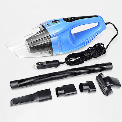 Car Vehicle Auto Truck Portable Handheld 120W 12V Wet Dry Vacuum Cleaner