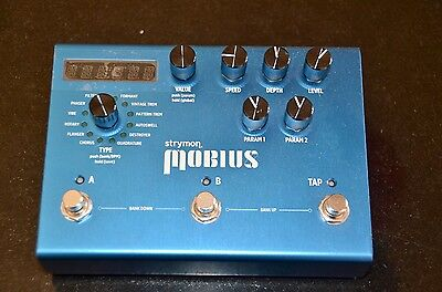 Strymon Mobius Modulation Multi Effect.