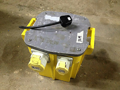 Defender 5KVA Transformer 2 x 16 Amp & 1 x 32 Amp Sockets Collection Only
