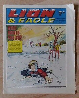 VINTAGE LION & EAGLE COMIC December 1969,Vtg,Christmas Edition,Xmas,Valiant