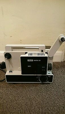 Superb Eumig Mark 60 - Super/Single 8mm Silent Projector - Made in Austria