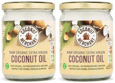 Coconut Merchant Coconut Oil - 500ml (Pack of 2)