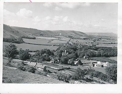 ROYAUME-UNI c. 1950 - Panorama Poynings South Downs  Sussex - Div 7677