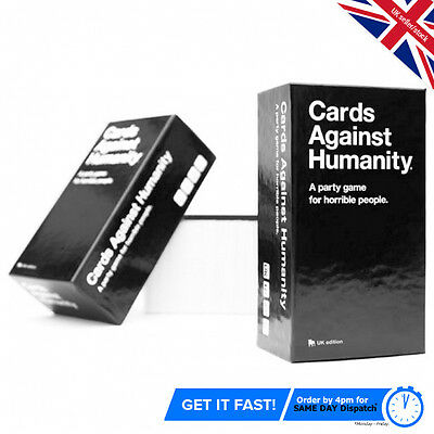 Cards Against Humanity Uk  Game Edition Brand new Xmas Party Same Day Dispatch