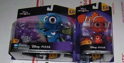 DISNEY INFINITY 3.0 Finding Dory Playset & Nemo Character Figure New Sealed FAST