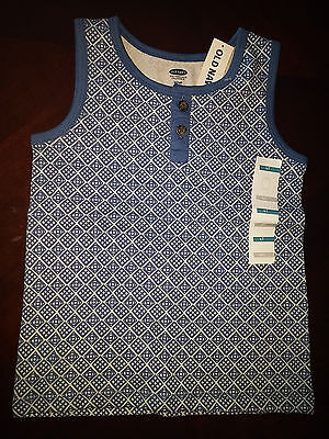 NWT Old Navy army sleeveless top beautiful size 4T fast shipping from Canada