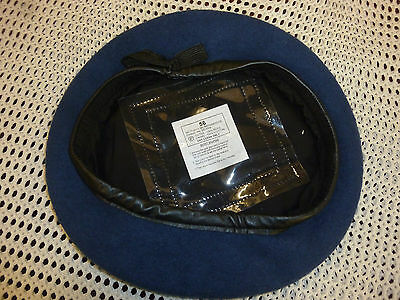 British Military Pant. Blue Beret Various Size Genuine Issue New