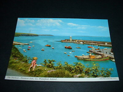 IRISH. POSTCARD THE HARBOUR DUNMORE EAST Co WATERFORD IRELAND