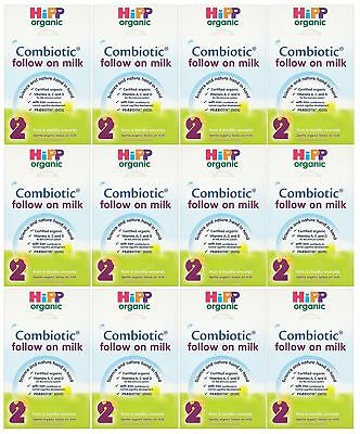 Hipp Follow On Milk - 800g (Pack of 12)