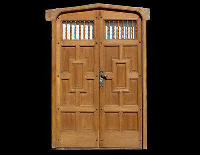 Salvage Double Entry Door #A1447