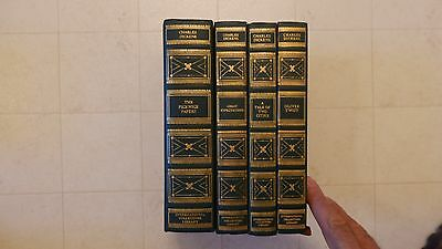 Lot Of 4 International Collectors Library Books By Charles Dickens