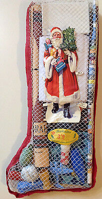 Unique vintage 1950's Barratt's Christmas/Xmas Stocking - Unopened and intact