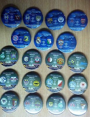 All 2016/2017 EUROPA LEAGUE Group Stage match badges