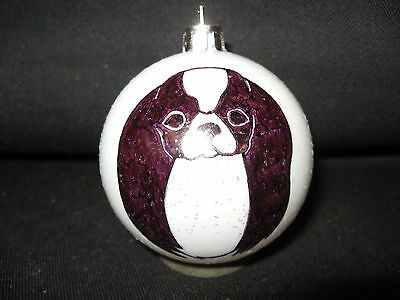 New Handpainted Japanese Chin Face Christmas Ornament