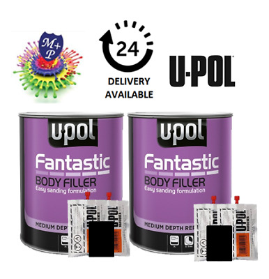 2 x 3L UPOL Fantastic Lightweight Body Polyester Filler