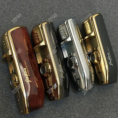 4 Pcs JOBON Triple Flame Torch Cigarette Jet Butane Cigar Cigarette Lighter