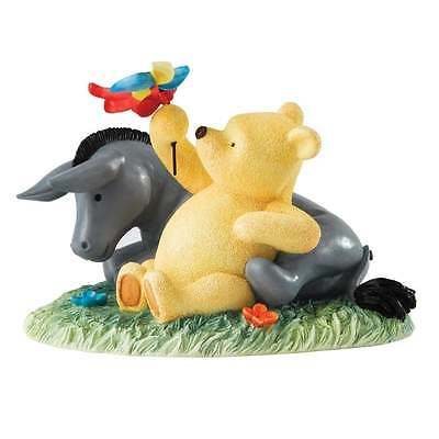 Border Fine Arts Classic Pooh & Eeyore Figurine New Boxed A24050
