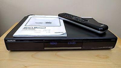 Humax PVR-9300T (320GB) DVR Digital Freeview Hard Drive Recorder with Remote