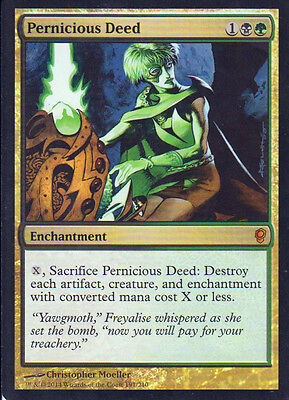 MTG 1x Pernicious Deed from Conspiracy NM -La Place-