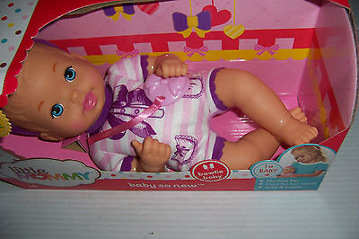 Fisher-Price Little Mommy Baby So New Bowtie Baby 12 Inch Baby Doll New In Box!