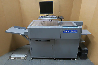 Duplo DC-645 Slitting Cutting Creaser Greeting Postcard Business Card Machine