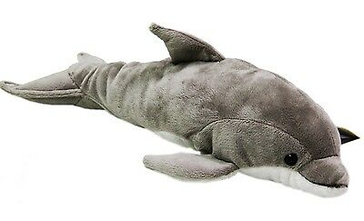 """National Geographic by LELLY 42 cm """"Ocean Dolphin"""" Stofftier (natur) NF636"""