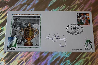 Will Carling OBE (Harlequins - England) Signed 1st Day Cover