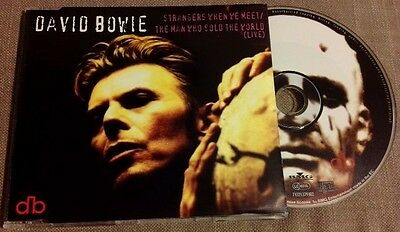 DAVID BOWIE / STRANGERS WHEN WE MEET - CD maxi single (Europe 1995)