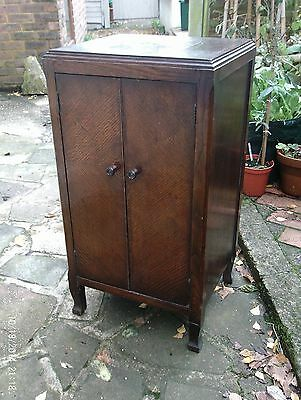 Old oak/ply cupboard
