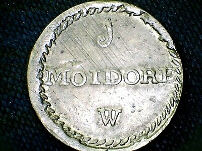 Portuguese Moidore Coin Weight Withers W1432