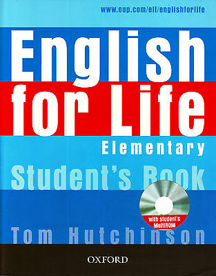 Oxford ENGLISH FOR LIFE Elementary Student's book /Coursebook with MultiROM @NEW