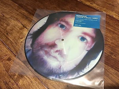 """Embrace - Love Is A Basic Need 10"""" Picture Vinyl + Download - 500 ONLY"""
