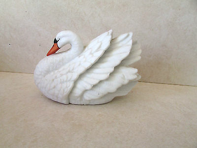 Royal  Heritage Collection SWAN Bisque Porcelain FIGURINE