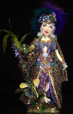 """21"""" Cloth Art Doll (E-Pattern) """"Crystal Mermaid Of The Lake"""" By CErbsland"""