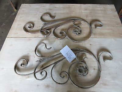 Antique Victorian Iron Gate Window Garden Fence Architectural Salvage #909