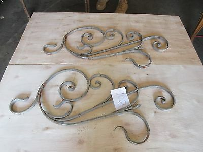 Antique Victorian Iron Gate Window Garden Fence Architectural Salvage #902