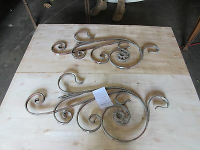 Antique Victorian Iron Gate Window Garden Fence Architectural Salvage #901