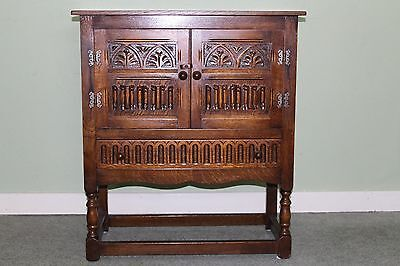 Quality Solid Oak Cupboard, Priory, Old Charm, Jaycee