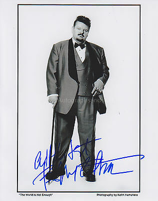 Robbie Coltrane Hand Signed 8x10 Photo Autograph James Bond 007, Harry Potter
