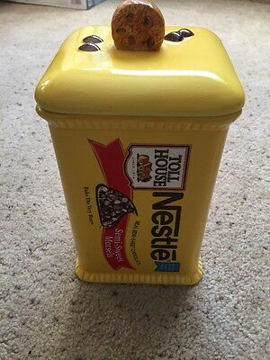 Nestle Toll House Cookie Jar Real Semi-Sweet Morsels