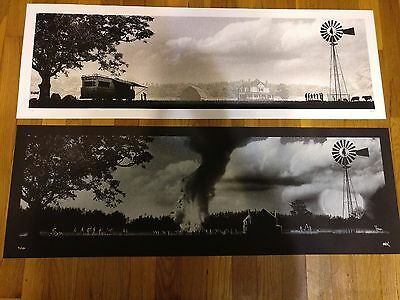 "The Walking Dead ""This is My Farm...I'll Die Here"" Mark Englert VARIANT SET S/N"