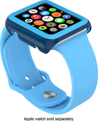 Speck - CandyShell Fit Hard Shell Case for 38mm Apple Watch- Deep Sea Blue/...
