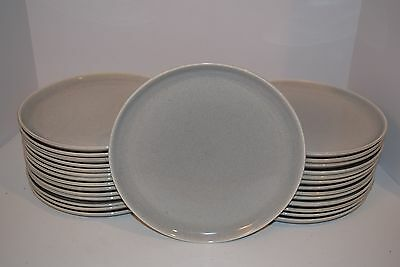 "Russel Wright Steubenville Am. Modern Granite Gray 10"" Dinner Plates"