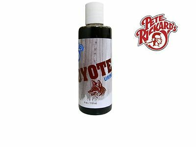 Pete Rickard - New 4 Oz. Coyote Urine Hunting & Trapping Lure Scent - Ld312