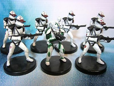 Star Wars Miniatures Lot  Salcucami Trooper Assault !!  s97