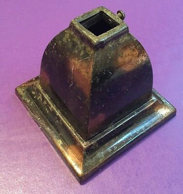 Rare Brass Japanned Canopy Great!