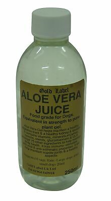 Gold Label Canine Aloe Vera Juice general tonic that promotes well-being, energy